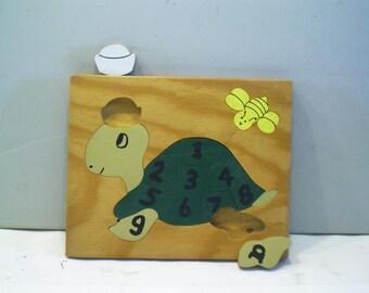 Inlaid Turtle Puzzle