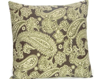 Popular items for sage green pillow on Etsy