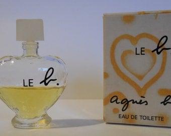 Miniature perfume LE B of Agnès B