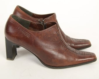 Brown Women Shoes Boots Style Business Shoes EUR 37 Size