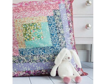 Rosie Patchwork Floor Cushion Sewing Pattern Download (803914)