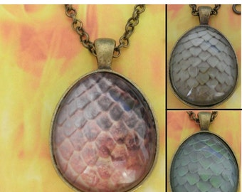 Dragon Egg Game of Thrones necklaces