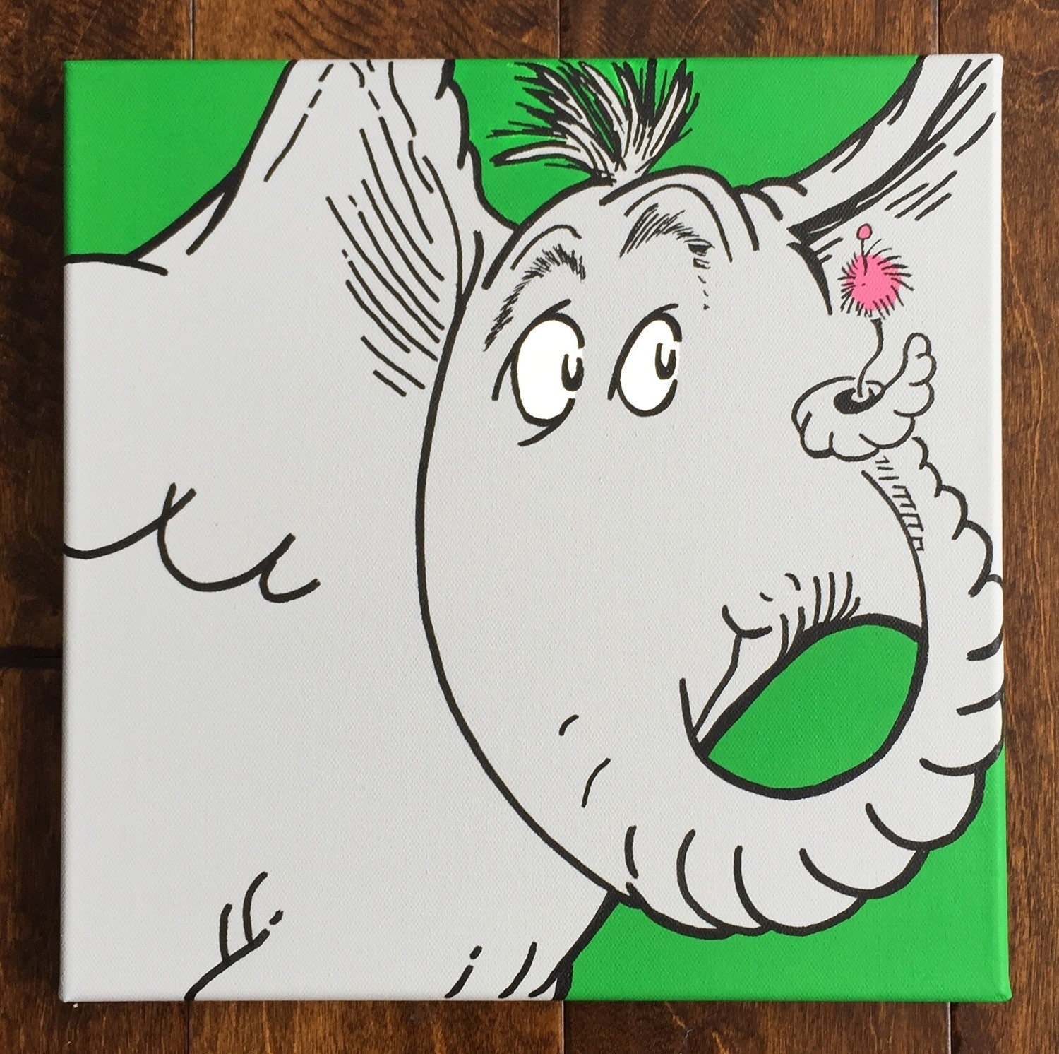 Horton Hears A Who Inspired By Dr. Seuss: 12 X 12 By