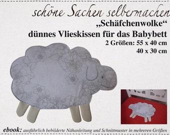 """kleines Kissen """"Schäfchenwolke"""""""