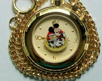 Disney LE Mickey Mouse Pocket Watch