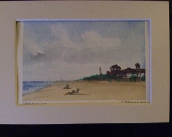 Cape May, New Jersey-ORIGINAL ARTWORK