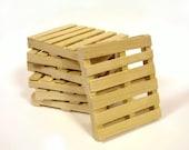 Pallet wood Mini Pallet Coasters