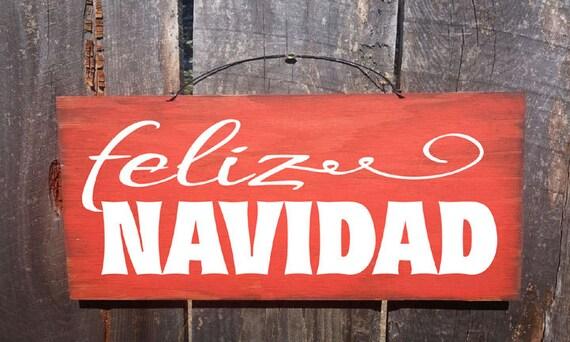Feliz Navidad Sign, Christmas decor, Merry Christmas sign, Christmas decoration