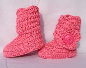 Ruffle Side Wrap Toddler Boots, Toddler Uggs, Toddler Boots, Crochet Toddler Boots, Pink Toddler Shoes, Pink Toddler Boots, Wrap Boots