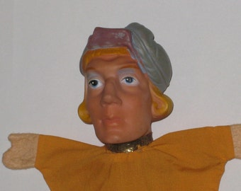 Vintage Hand Puppet - The Prince
