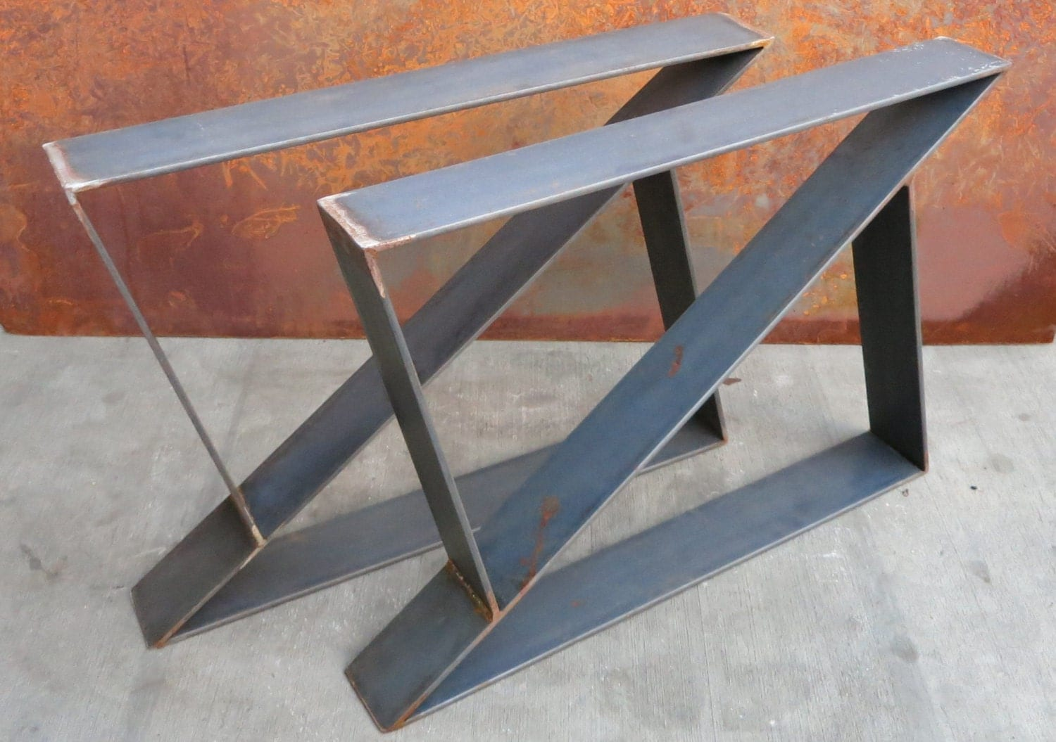 Z Metal Table Legs Set Of 2