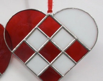 Danish Heart, Red & White, Regular size is festive for anytime of year