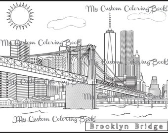 new york city coloring pages - photo#15