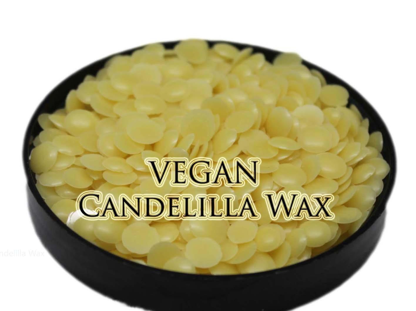 Candelilla Wax 8 oz Vegan Beeswax diy by SoapMakingSupplies4U