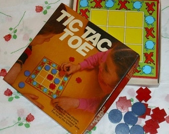 Tic Tac Toe Noughts And Crosses Vintage Game Collectable Eighties Memorabilia Michael Stanfield 1981 Board Game Paper And Pencil Family Game