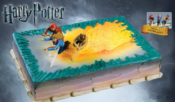 Harry Potter Cake Decorating Kit Topper : Harry Potter Birthday Cake Instructions ~ Image ...