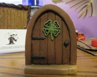 Celtic Fairy door, mouse door, garden decor