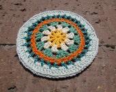 Hand Crocheted Mini Mandala