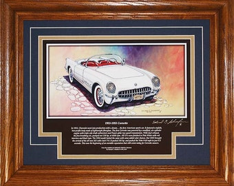 1953 Corvette with History