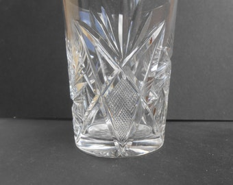 American Brilliant cut glass tumbler