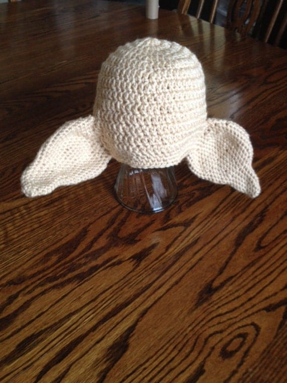 Items similar to Crochet Elf hat Dobby Yoda on Etsy