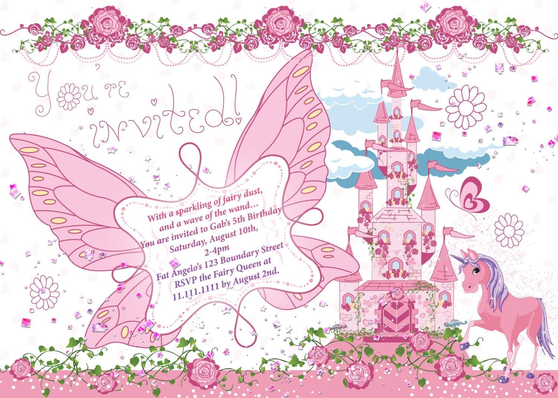Fairy Princess Party Fairy birthday party fairy castle