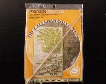 1979 Paragon Needlecraft Calendar Collection