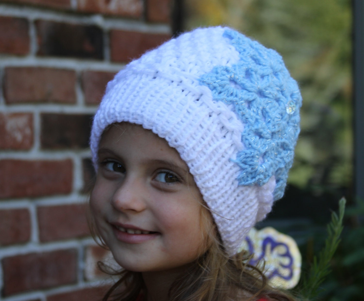 Knitting Pattern For Elsa Hat : Pink baby girls Hat. Newborn knit hat. Knitted by LudMilaBoutique