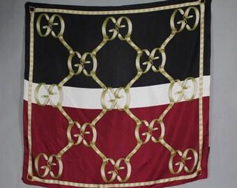 Vintage Gucci Silk Scarf