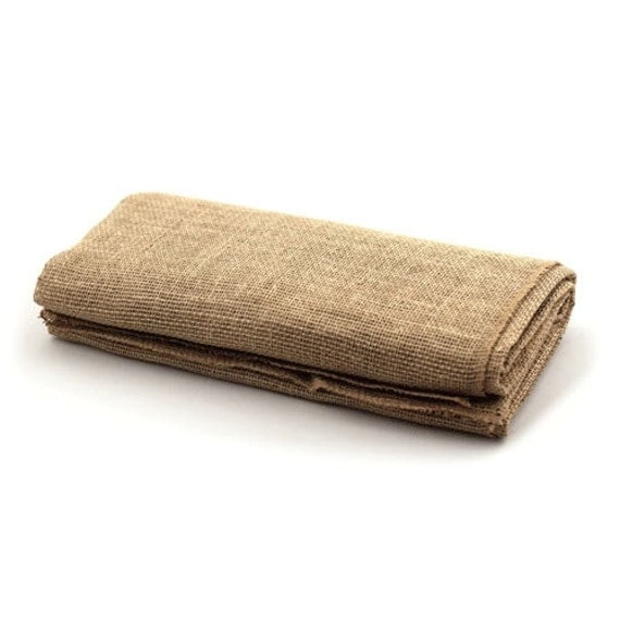 Burlap tablecloth 60 x 60 in burlap square table by houseofka for 60 burlap