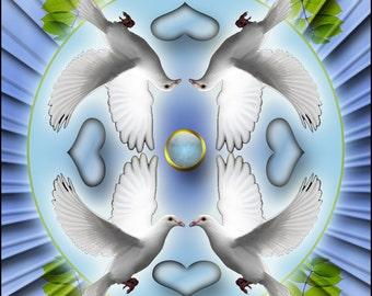 Psychic Mediumship Oracle Card Deck