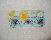 50 Percent Off, Was 25 Dollars and 95 cents, Big Sale Day, Fabric Wallet, Mother of Bride Gift