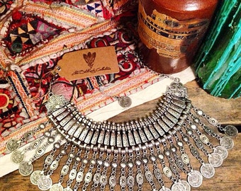 Stunning 'Gypsy Queen' Bohemian Turkish Necklace