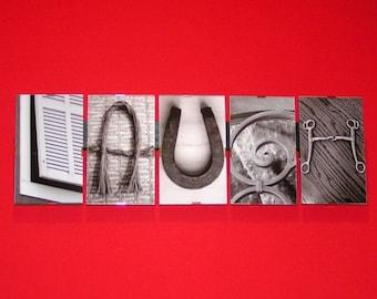 Live Laugh Love,  Alphabet Photography, Letter Picture Art , Alphabet Photo Word Art , Rustic Home Décor, Housewarming Gift, House Warming