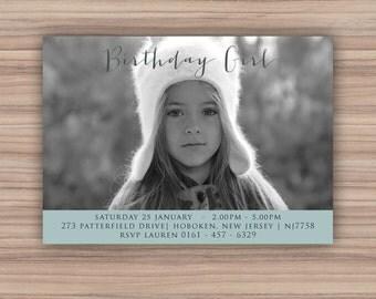 Printable Birthday Invitation - Printable Invitation - Birthday Party - Party Printables - Birthday Photo Invitation - 105