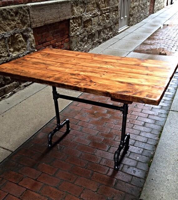 Bountiful Harvest Table Reclaimed Wood Dining Table Farmhouse Trestle Table  Industrial Table