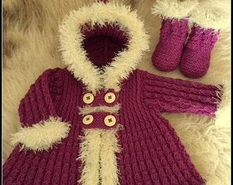 little eskimo coat and boots pdf pattern