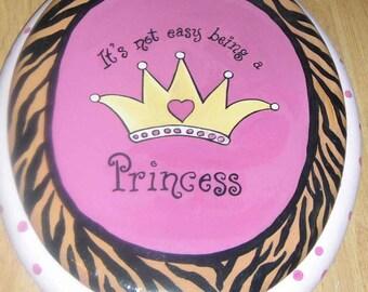 princess toilet seat, hand painted toilet seats, custom toilet seats, bathroom decor, painted furniture