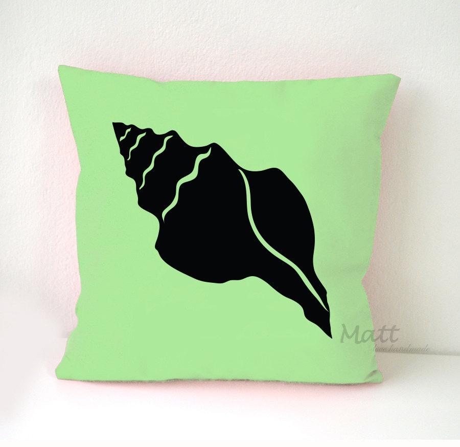 Ocean Animal Pillows : Sea animals themes Pillow Cover Seashell pillow case