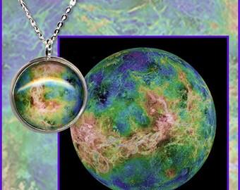 Silver Venus Pendant