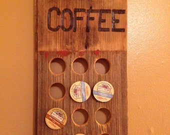 "Coffee ""Kurig"" Cup Holder"