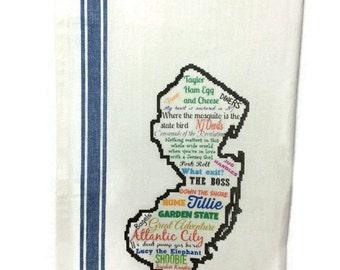 Custom State Kitchen Towel, Dish Towel, Tea Towel, Flour Sack Material,State Dish Towels Flour Sack,Flour Sack Kitchen Towel, Dish Cloth