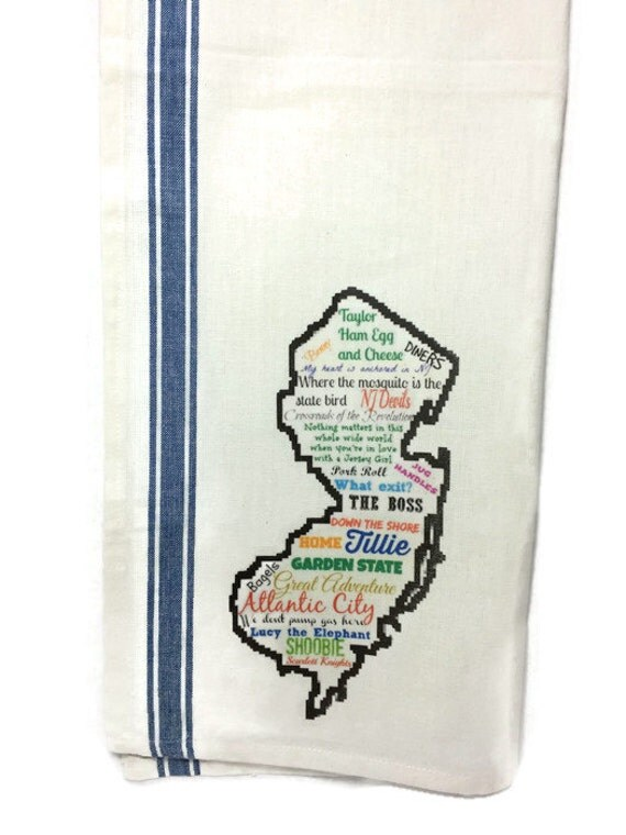 Custom State Kitchen Towel, Dish Towel, Tea Towel, Flour Sack Material,State Dish Towels Flour Sack,Flour Sack Kitchen Towel, Dish Cloth