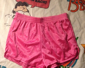 1980s Genie Pink Workout Bottoms Sz.XS