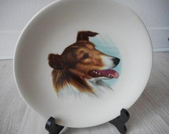 Vintage Gien France decorative collectors plate