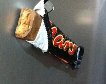 Full Size Mars Chocolate Bar Fridge Magnet.