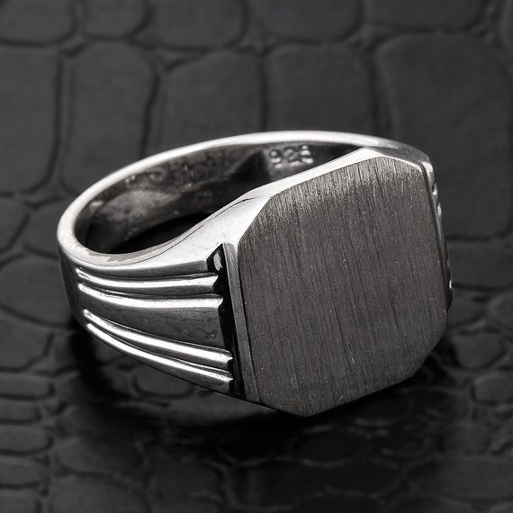 signet ring silver signet ring sterling silver s