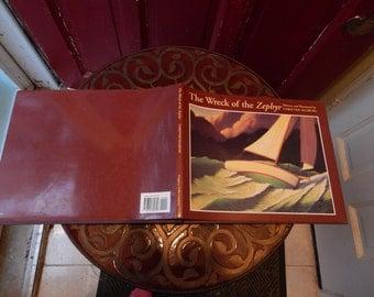 Chris Van Allsburg Wreck of the Zephyr Children's Book Collectible