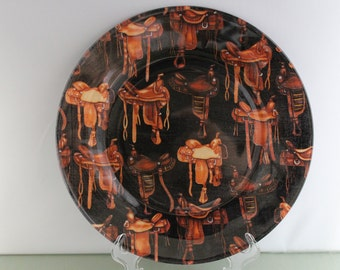 Saddle Decorative Plate
