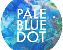 Popular Items For Pale Blue Dot On Etsy